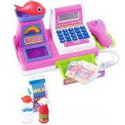 Caixa Registradora Rosa Pequena - Fenix Brinquedos