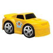 Carro Bobby Car - Amarelo/ Vermelho - Usual Brinquedos