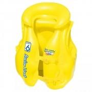 Colete Inflável Infantil Premium Amarelo - MOR