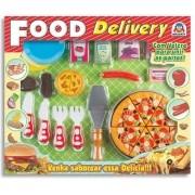 Food Delivery Pizza com Velcro - Braskit