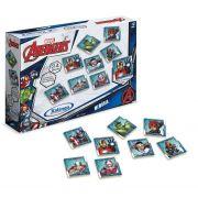 Jogo da Memória Marvel Avengers 24 Peças Madeira - Xalingo