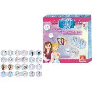 c7c3c69537 Jogo da Memória Princesa do Gelo em Madeira - Brincadeira de Criança