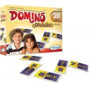 Jogo Dominó Divisão 28 peças em Madeira - Xalingo