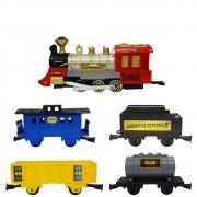 Locomotiva Expresso II com Túnel - Braskit