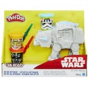 Massinha Play Doh Can Heads Star Wars Ataque do AT-AT - Hasbro