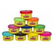 Massinha Play-Doh Cores de Festa 10 Mini Potes - Hasbro