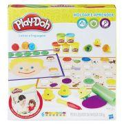 Massinha Play-Doh Moldar e Aprender Letras e Linguagem - Hasbro