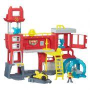 Playset Playskool Transformers Rescue Bots Quartel General dos Bombeiros de Griffin Rock - Hasbro
