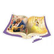 Quebra-cabeça A Bela e a Fera Princesa Disney - Xalingo