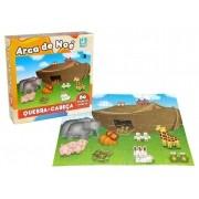Quebra-cabeça Arca de Noé 60 Peças Madeira - Nig Brinquedos