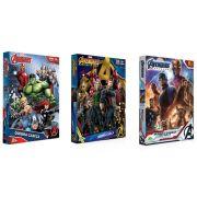 Quebra-cabeça Marvel Os Vingadores 100 Peças - Jak
