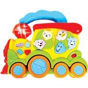 Trem Fazendinha Musical - Zoop Toys