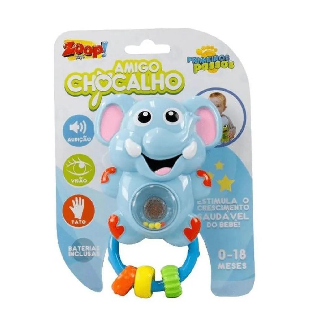 Amigo Chocalho Elefantinho - Zoop Toys