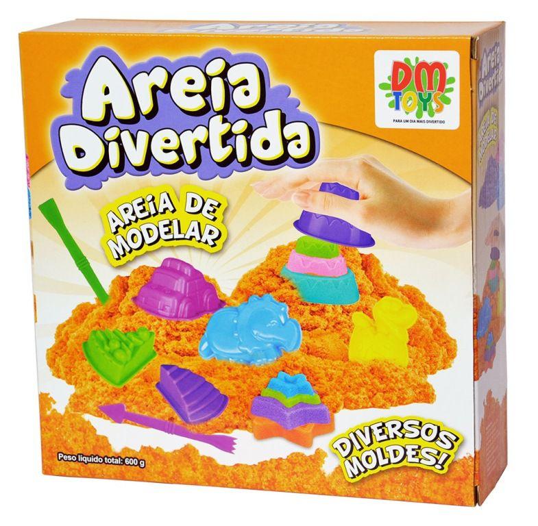 Areia Divertida Bolos - Dm Toys