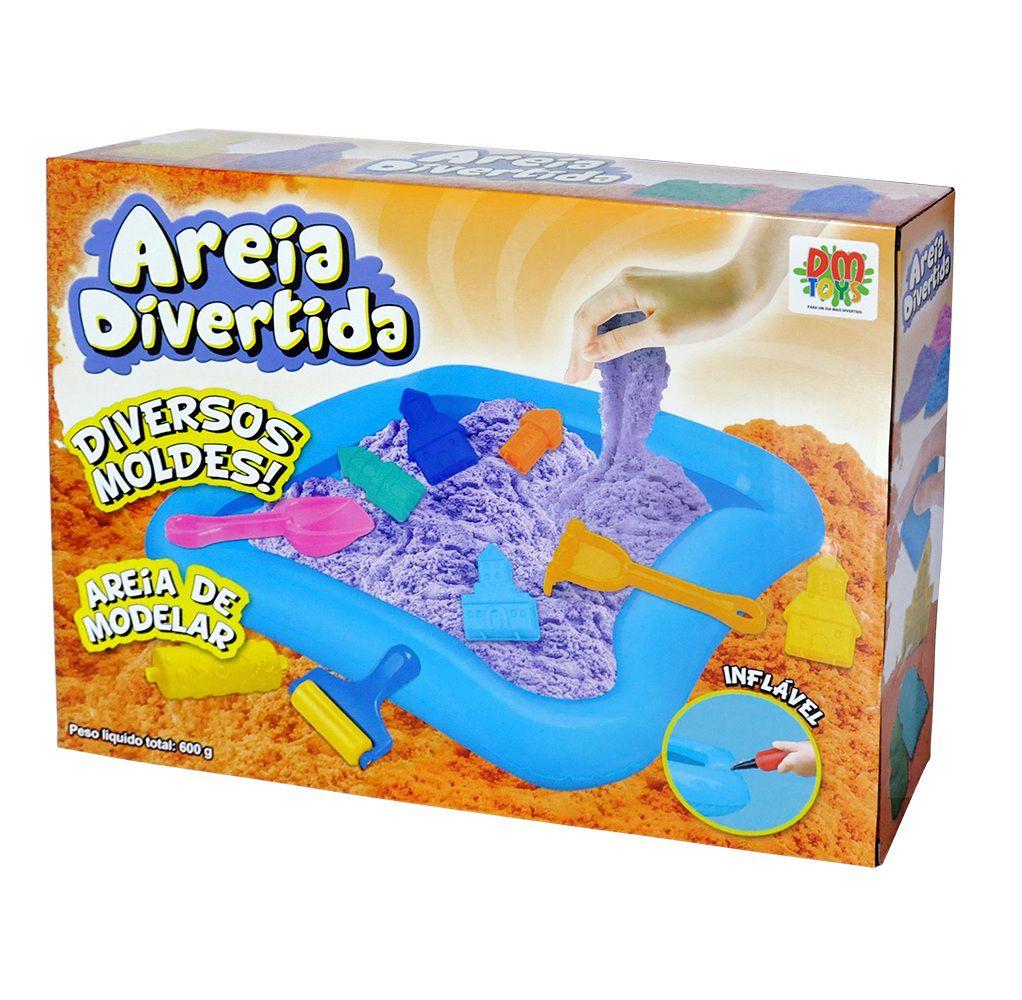 Areia Divertida Castelo - Dm Toys