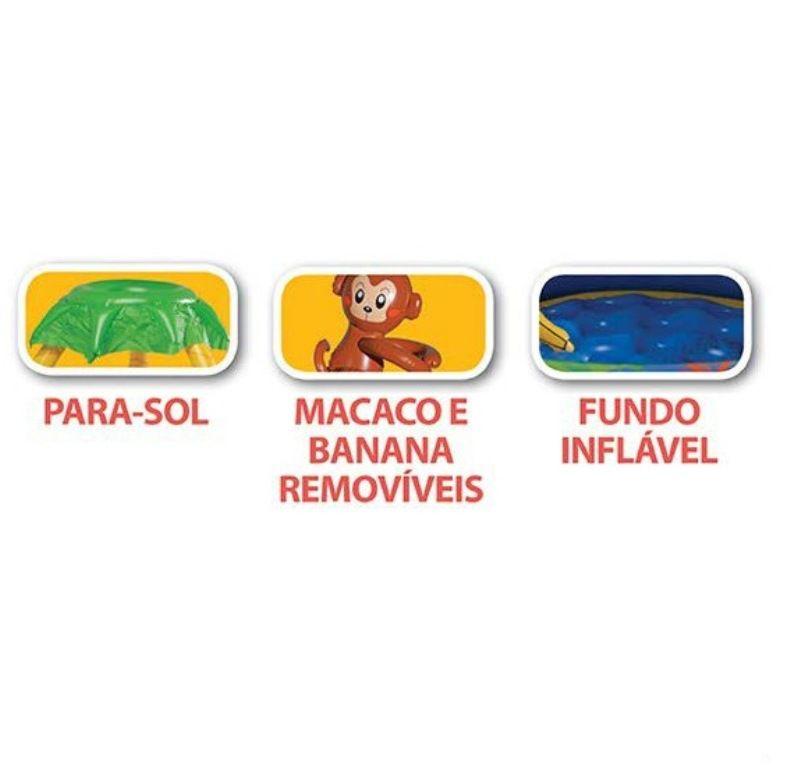 Banheira Inflável Macaco 65 Litros - MOR