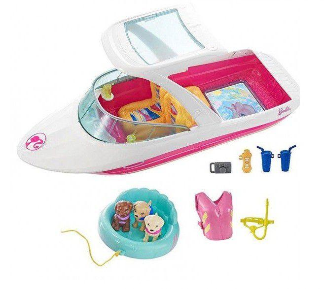Barbie e os Golfinhos Mágicos Barco de Aventuras - Mattel