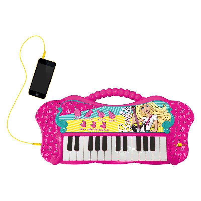 Barbie Linha Musical Teclado Glamouroso com MP3 Player - Fun
