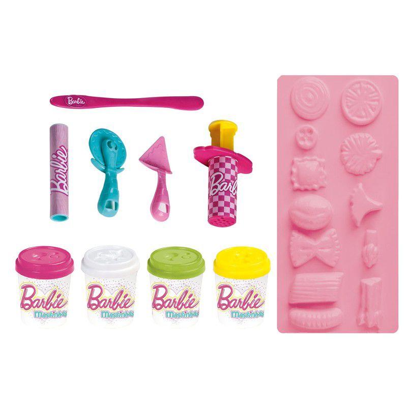 Barbie Massinhas Linha Food Truck Cantina e Pizzas Divertidas - FUN
