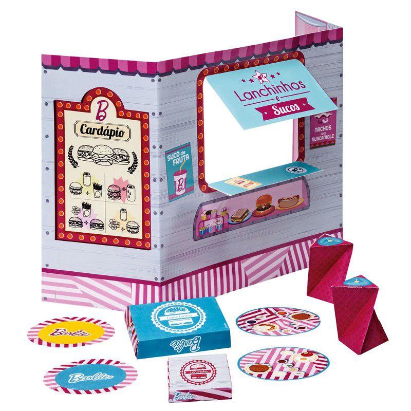 Barbie Massinhas Linha Food Truck Lanchinho e sucos Divertidos - Fun