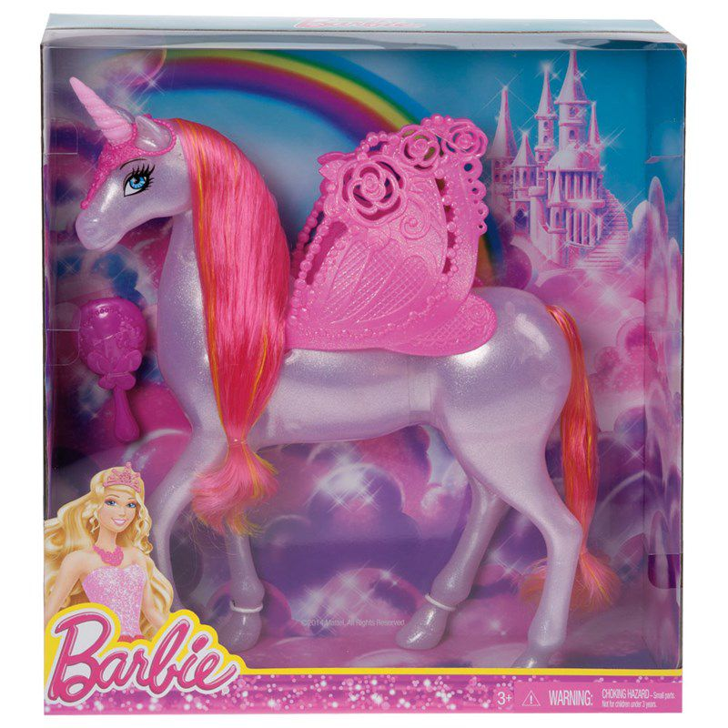 Barbie Unicórnio Fairy Pink - Mattel