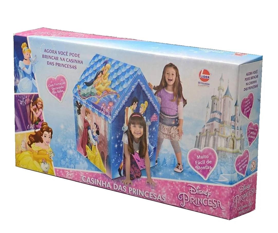 Barraca Infantil Casinha das Princesas Disney Princesa - Lider Brinquedos