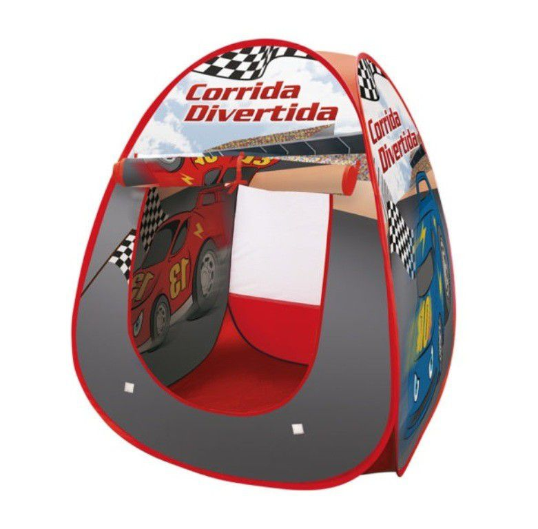 Barraca Corrida Divertida - Dm Toys