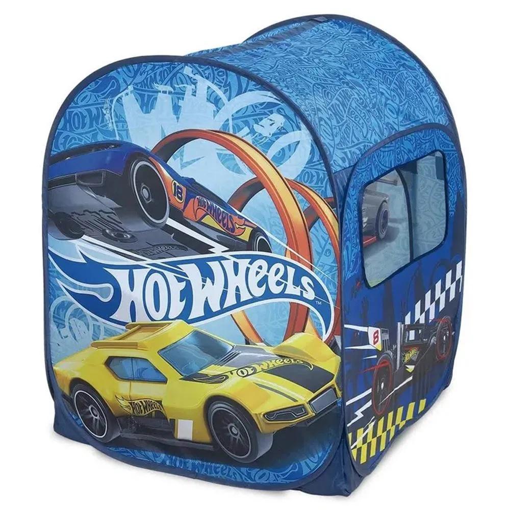 Barraca Infantil Hot Wheels com 50 Bolinhas Coloridas - FUN
