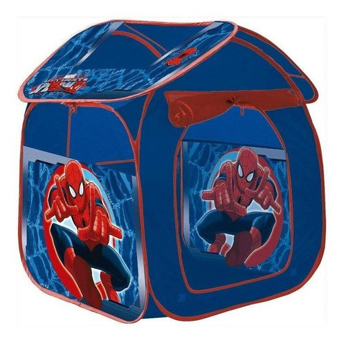 Barraca Portátil Infantil Casa Marvel Ultimate Spider-Man - Zippy Toys
