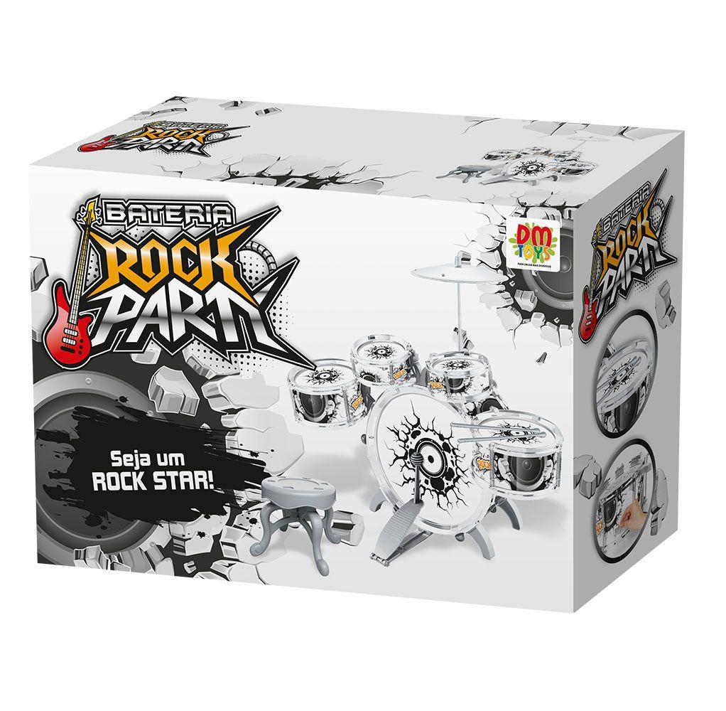 Bateria Rock Party - Dm Toys