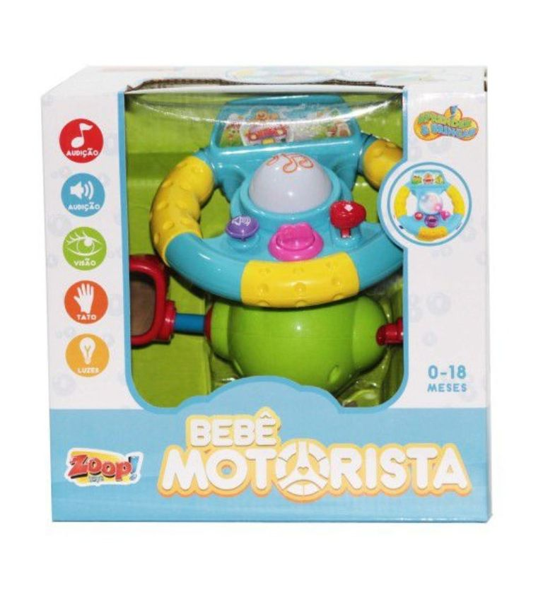 Bebê Motorista Volante - Zoop Toys