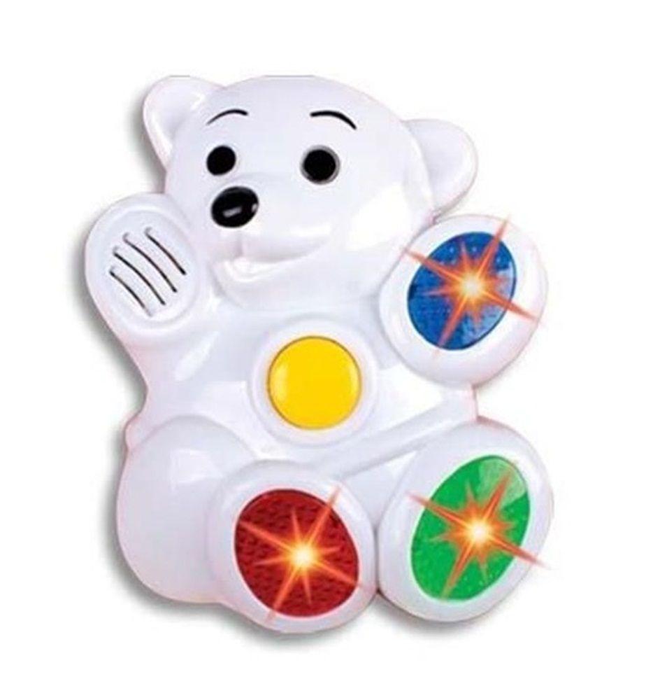 Bebê Musical Urso - Braskit