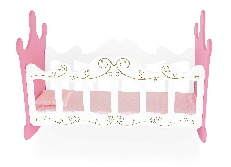 Berço de Bonecas Princesas em Madeira - Junges
