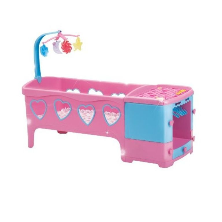 Berço para Boneca Um Sonho de Bercinho Pink - Magic Toys