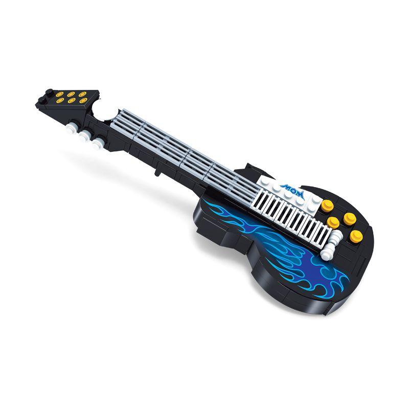Blocos de Montar Guitarra Musical Click It com 178 Peças - PlayCis