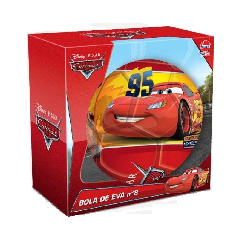 Bola de EVA Nº 8 Disney Pixar Carros - Lider Brinquedos