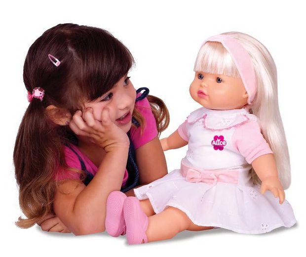 Boneca Alice Inteligente - Baby Brink
