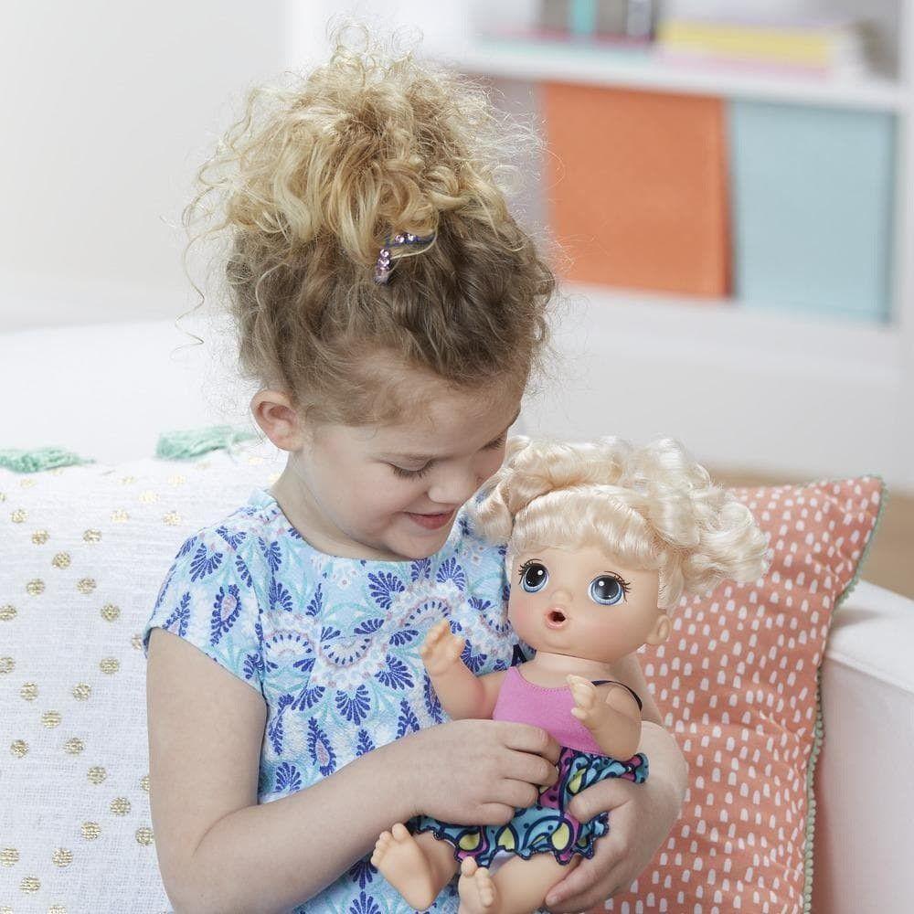 Boneca Baby Alive Adoro Macarrão Loira - Hasbro