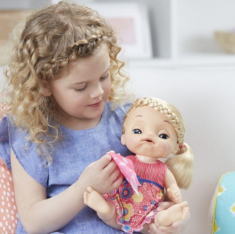 Boneca Baby Alive Bebê Doces Lágrimas Loira - Hasbro