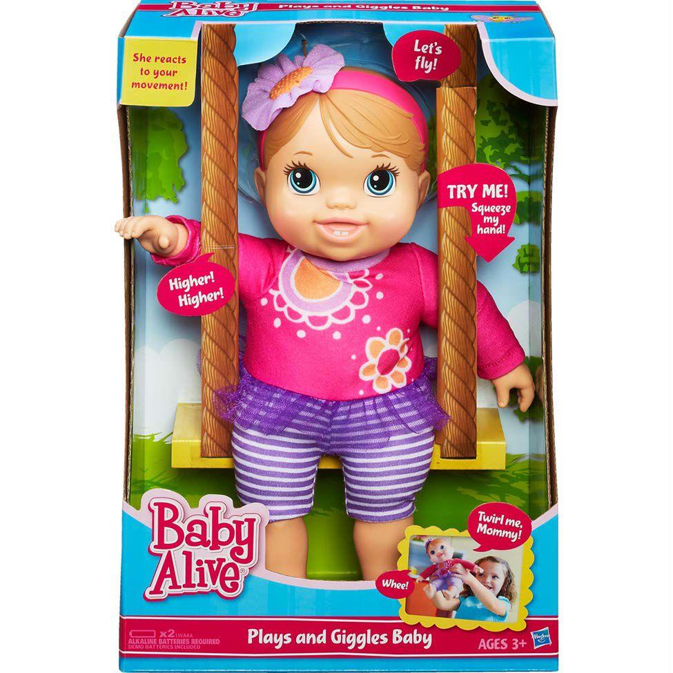 Boneca Baby Alive Bebê Risadinha - Hasbro