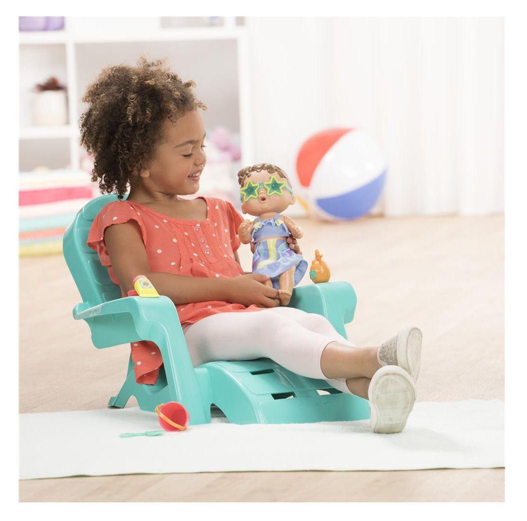 Boneca Baby Alive Bebê Sol e Areia Morena - Hasbro