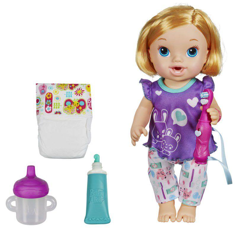 Boneca Baby Alive Bons Sonhos Loira - Hasbro
