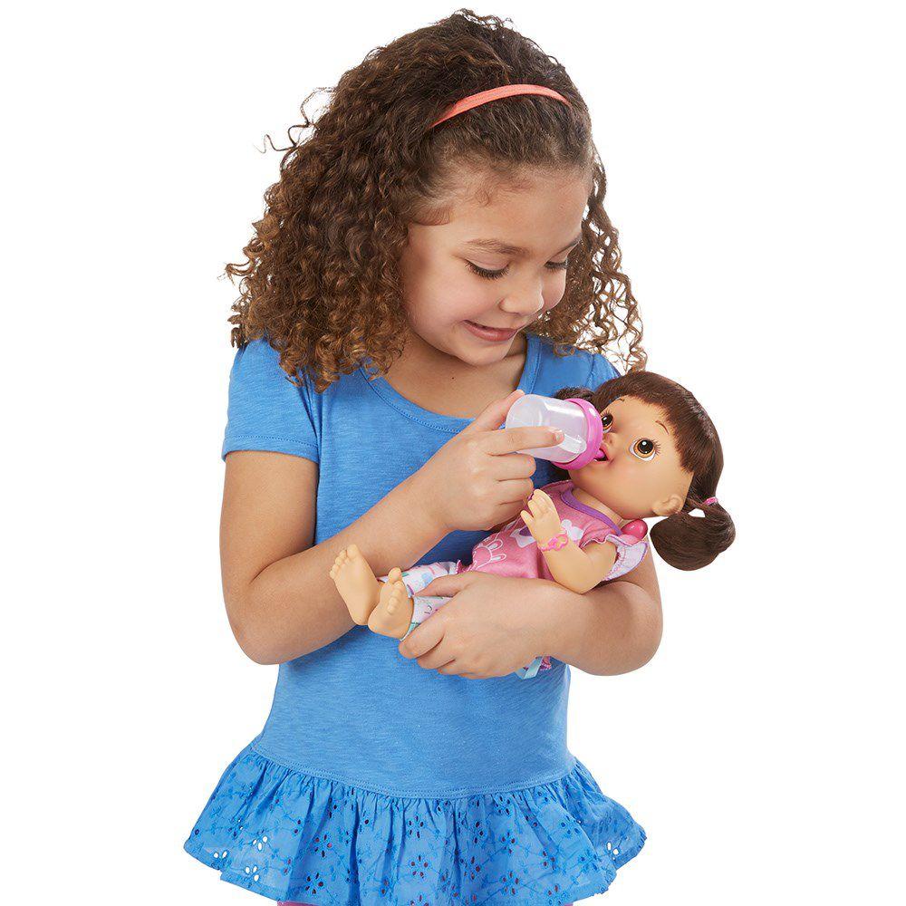 Boneca Baby Alive Bons Sonhos Morena - Hasbro