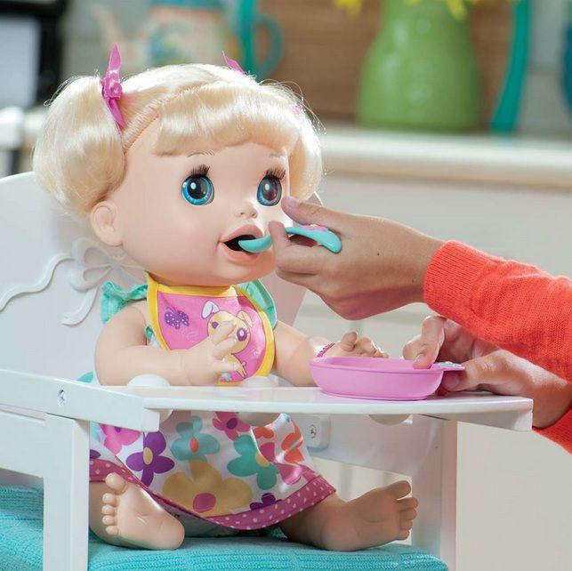 Boneca Baby Alive Comer e Brincar - Hasbro