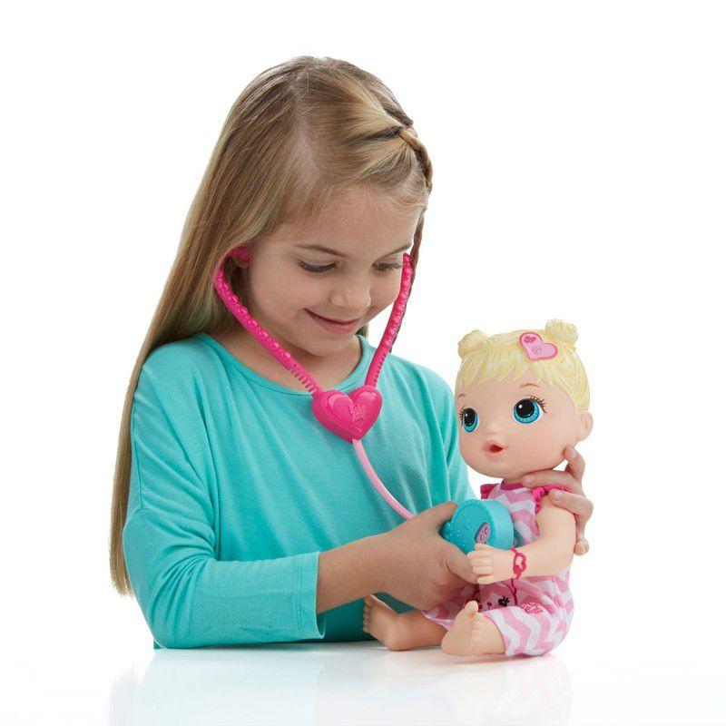 Boneca Baby Alive Cuida de Mim Loira - Hasbro