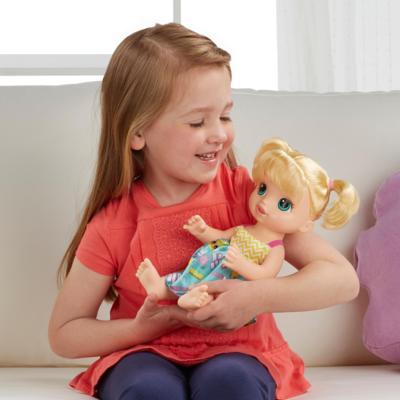 Boneca Baby Alive Escolinha Loira - Hasbro