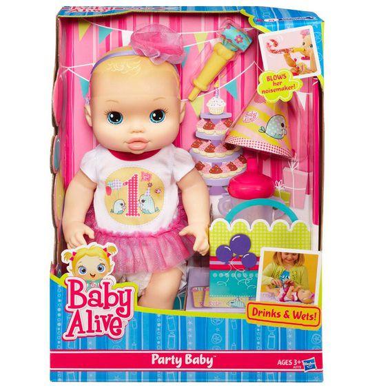 Boneca Baby Alive Festa de Aniversário - Hasbro