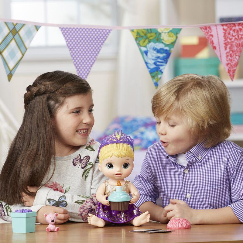 Boneca Baby Alive Festa Surpresa Loira - Hasbro