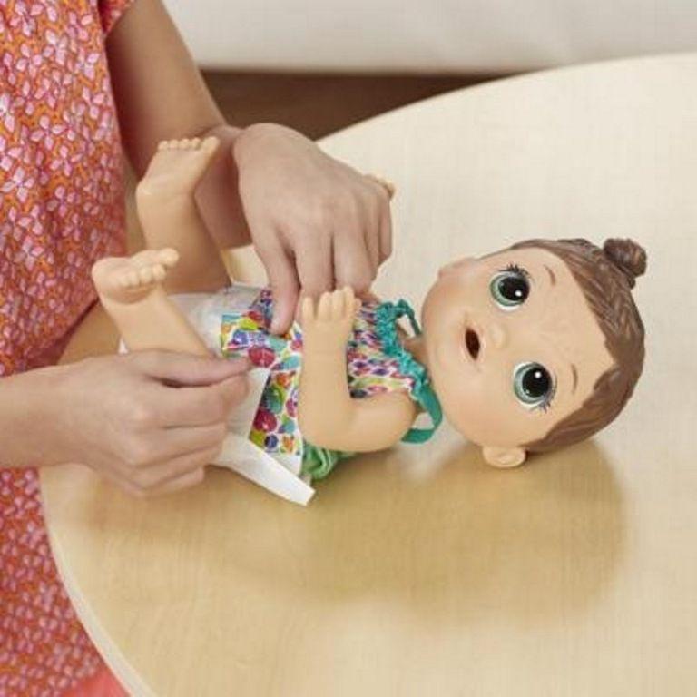 Boneca Baby Alive Hora da Festa Morena - Hasbro