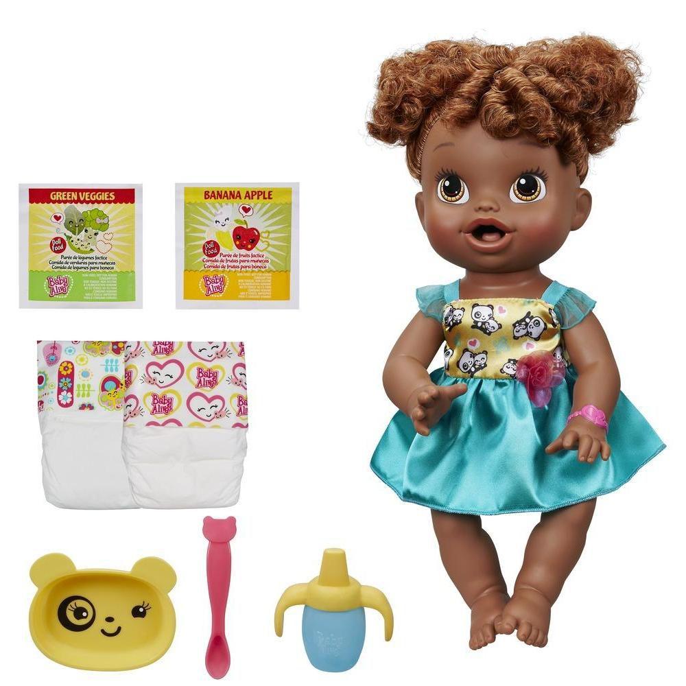 Boneca Baby Alive Hora de Comer Negra - Hasbro